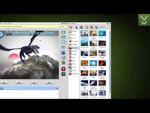 WebcamMax - Add thousands of cool effects to webcam video - Download Video Previews