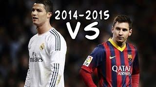 Lionel Messi vs Cristiano Ronaldo - The Never-Ending Battle 2014/2015 ||HD|| CO-OP