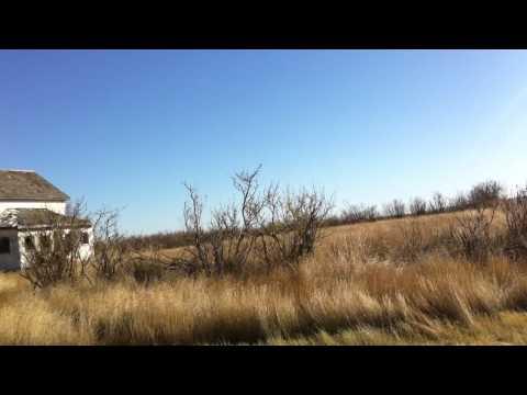 Haciendas abandonadas en el medio de la nada