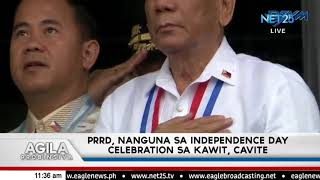 PRRD, nanguna sa Independence Day Celebration sa Kawit, Cavite