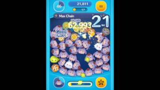 [Star Wars Event] How to make a 55 chain (Disney Tsum Tsum gameplay)