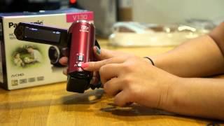 Panasonic HCV130 Full HD Camcorder Overview