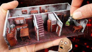 Making GRANNY'S Ground Floor MINIATURE HOUSE in Polymer Clay!