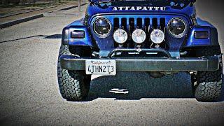 Jeep Wrangler 4x4 - Mojave Desert Hill Climb