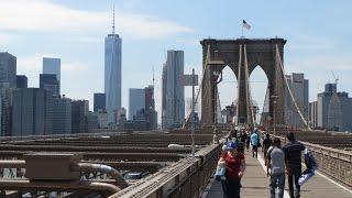 Sightseeing in New York City / One World Trade Center / Brooklyn bridge / 911 museum / highlights
