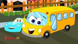 The Wheels on The Bus Go Round and Round | videos For Children | videos for kids