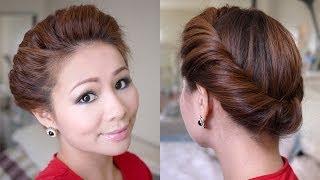 2 Minutes Spring Twist Hair Tutorial