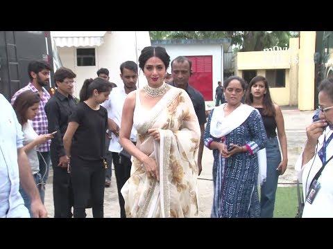 Xxx Mp4 Sridevi INSIDE Filmcity Studio For Mom Movie Promotions 3gp Sex