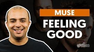 FEELING GOOD - Muse (aula de bateria)