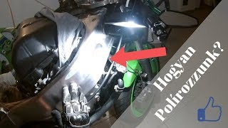Alumínium Váz Száraz Polírozása | Dry polishing aluminium Frame [magyar]