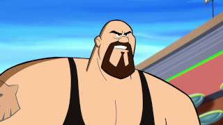 "Sheamus and Big Show collide in ""WWE & The Jetson: Robo-Mania"""