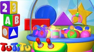 TuTiTu Preschool | Learning Shapes for Babies and Toddlers | Crane Game