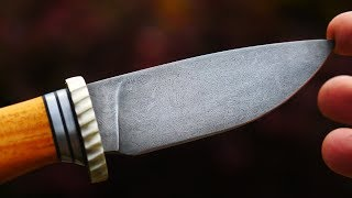 Forging A Knife With Drill Shaving Spirals