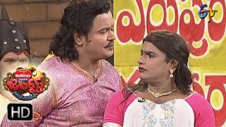 Bullet Bhaskar Sunami Sudhakar Performance   Jabardsth   2nd February 2017  ETV  Telugu