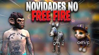 EXCLUSIVO - NOVO PERSONAGEM E PETS NO FREE FIRE - FT EL GATO