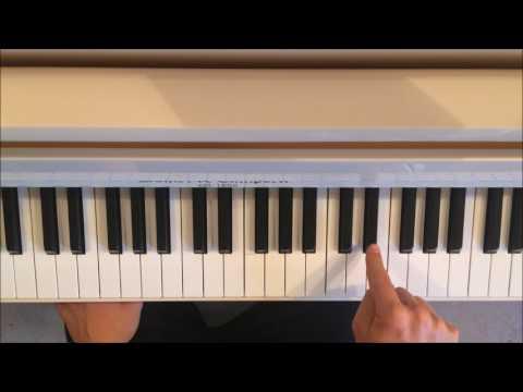 Daniel Sam - BOOBA - Piano Tutoriel