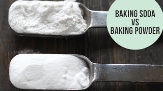 Baking Soda vs. Baking Powder: The Difference