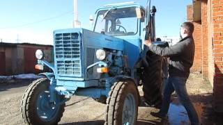 Краткий Обзор Трактора МТЗ-80 (полная версия)