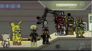 Scribblenauts Unlimited 102 Five Nights at Freddy's 3 Animatronics in Object Editor