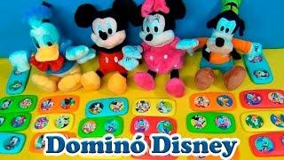 TURMA DO MICKEY BRINCA COM VOCÊ - DOMINÓ DISNEY -Mickey Mouse Clubhouse A CASA DO MICKEY MOUSE
