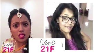 Kumari 21 F Dub Smash || Anasuya || Kriti Sanon || Rejina || Suma || Pranitha - Chai Biscuit