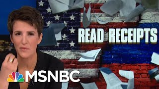 Donald Trump Jr. Seems Relevant To Robert Mueller Paths Of Inquiry | Rachel Maddow | MSNBC