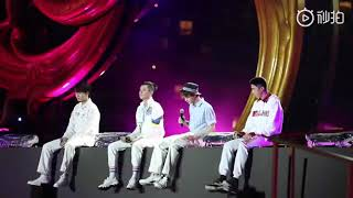 MAKING MEMORIES   F4 FULL LIVE PERFORMANCE   METEOR GARDEN 2018 OST
