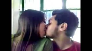 hot kissing video by young lovers in hotel room