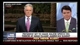 من الإعلام الأمريكي لليوم الأول لزيارة الرئيس ترمب الى السعودية : ترمب و اوباما ، و تغطية الشعر