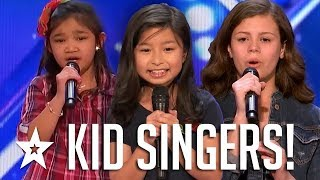 BEST KID SINGER Auditions 2017 On Got Talent | Got Talent Global