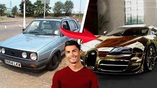 10 Fußballer Autos | Damals & Jetzt 🌟🔥 ft. Ronaldo, Messi, Neymar usw.