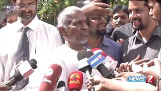 Ilayaraja confronts reporter who asked him about  'Beep' song | News7 Tamil