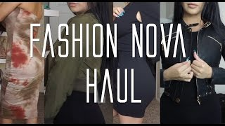 Fashion Nova try on HAUL. | Evettexo