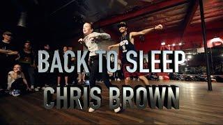 Back to Sleep Chris Brown - Alexander Chung Choreography