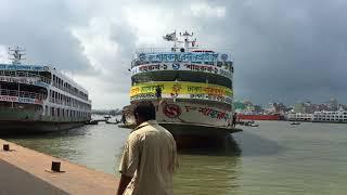 Tourism in Bangladesh   Dhaka Sadarghat Launch Terminal    Bangladesh Full Hd  2