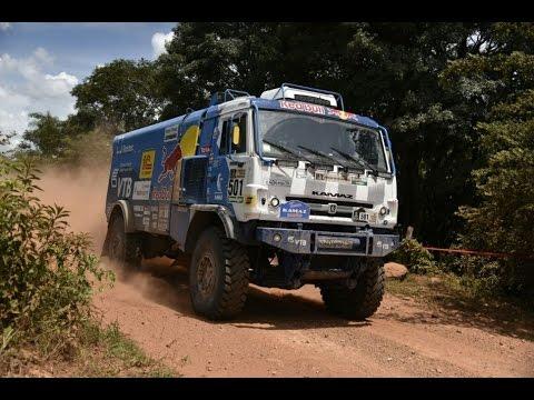 Show de camiones y autos en Paraguay Rally Dakar 2017
