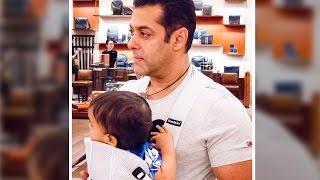 Salman Khan ENJOYING With Nephew AHIL On Dabangg Tour 2017