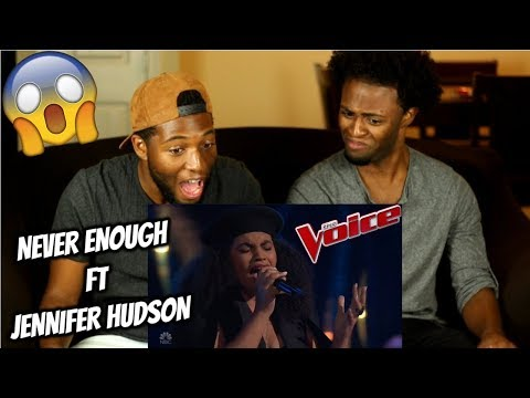 """Audri Bartholomew Wins Over JHUD with Loren Allred's """"Never Enough"""" - The Voice 2018 Blind Auditions"""