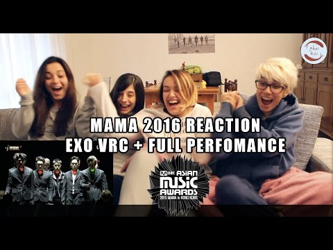 [2016 MAMA] EXO - VCR + TRANSFORMER + MONSTER | Reaction by AkaiKoi