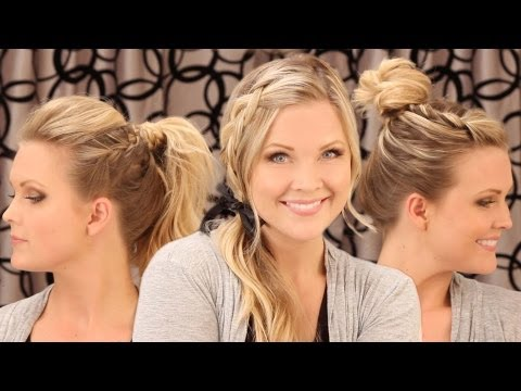 3 Quick Everyday Hairstyles