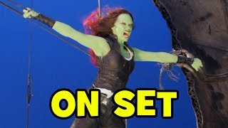 Behind The Scenes on GUARDIANS OF THE GALAXY VOL. 2 - B-Roll & Bloopers