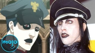 Top 10 Anime Characters Based on Real People