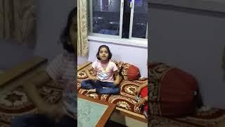 Marathi poem sing by my daughter ekata