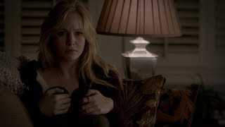 The Vampire Diaries: Klaus stabs and bites Caroline, she's dying (4x13) [HD]