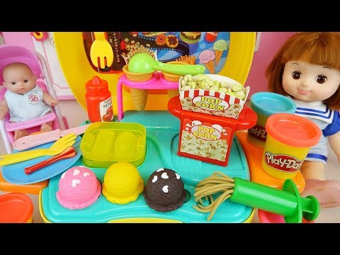 Xxx Mp4 Baby Doll Play Doh Ice Cream And Pop Corn Cooking Kitchen Toys Play 3gp Sex