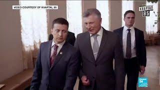 """Zelensky élu président d'Ukraine : """"C'est un vote protestataire"""""""