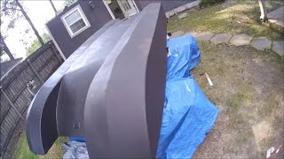 Homemade Plywood Jet Boat Pt 12 (Body Prep And Paint)