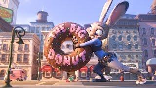 Zootropolis   Vlaamse Clip: Eet Een Donut, Agentje   Disney BE