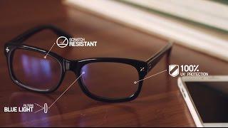 Blue Reflect Lenses For Protection From Digital Eye Strain