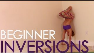 Yoga Basics Class FOUR: Beginner Inversions, Headstand, Forearm Balance and Handstand